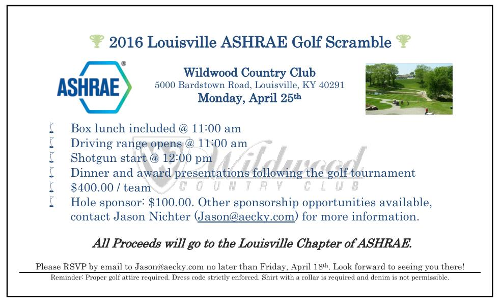 Louisville ASHRAE :: Louisville ASHRAE :: ASHRAE News ::