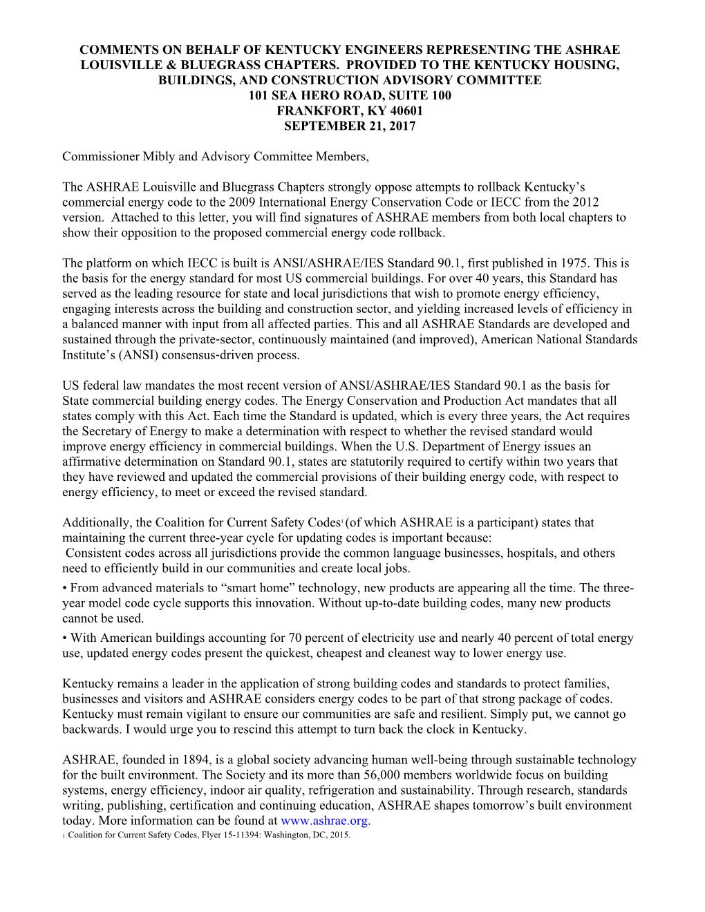 comment letter on 2012 iecc rollback from ky chapters